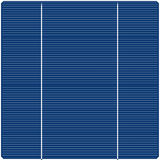 Solar panel texture Royalty Free Stock Photos