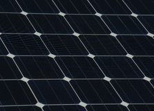 Solar panel texture Stock Image