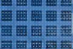 Solar Panel Texture Stock Images