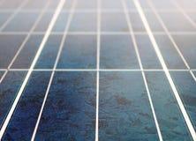 Solar panel texture Stock Photo