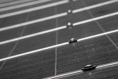 Solar Panel up Close Royalty Free Stock Photography