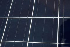 Solar Panel Up Close Stock Photography