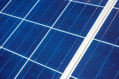 Solar Panel up Close Royalty Free Stock Images