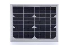 Solar panel on white background Royalty Free Stock Photos