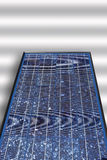 Solar panel on white background, close up. Royalty Free Stock Photo