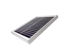 Solar panel with white background Stock Photography