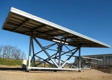 Solar panels. Lombardy,Italy,a  solar panels Stock Image