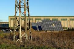 Solar panels. Lombardy,Italy,some solar panels stock photos