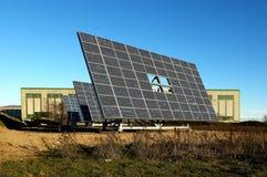Solar panels. Lombardy,Italy, some solar panels royalty free stock photography