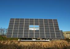 Solar panels. Lombardy,Italy, some solar panels stock image
