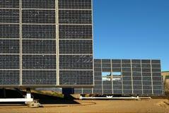 Solar panels. Lombardy,Italy, some solar panels royalty free stock photos