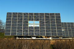 Solar panels. Lombardy,Italy,some solar panels Royalty Free Stock Image