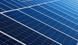 Solar panels Royalty Free Stock Photos