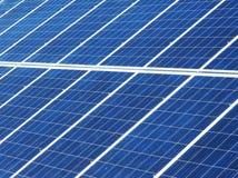 Solar panels. Detail of the solar panels Stock Photo