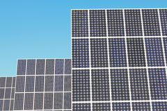 Solar panels Royalty Free Stock Images