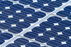Solar panels. Close up on solar panels Stock Image