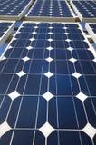 The Solar Panels. Closeup view of solar panels Royalty Free Stock Photo
