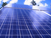 Free Solar Panels Royalty Free Stock Photography - 2996007
