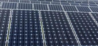 Solar panels. Some Solar panels in china stock photo