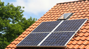 Free Solar Panels Royalty Free Stock Photography - 6575847