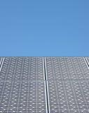 Solar Panels. Against an azure blue sky Stock Image
