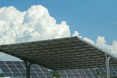 Solar Panels against Blue Sky Royalty Free Stock Photography