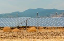 Solar panels (alternative energy) Stock Photos