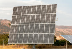 Solar panels (alternative energy) Stock Image