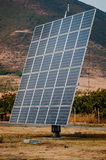 Solar panels (alternative energy) Royalty Free Stock Photography