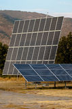 Solar panels (alternative energy) Royalty Free Stock Photos