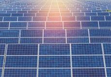 Solar panels alternative renewable energy from the sun Royalty Free Stock Photos