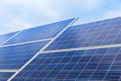 Solar panels alternative renewable energy from the sun stock photography