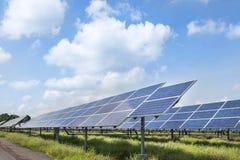 Solar panels alternative renewable energy from the sun Royalty Free Stock Photo