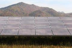 Solar panels alternative renewable energy from the sun Stock Image