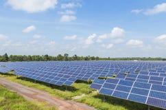 Solar panels alternative renewable energy from the sun Royalty Free Stock Image