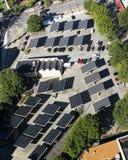 Solar Panels in Atlanta, GA. Royalty Free Stock Image