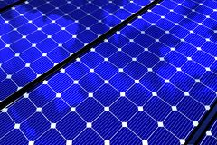 Solar Panels Background Royalty Free Stock Images