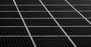 Solar panels background Royalty Free Stock Photo