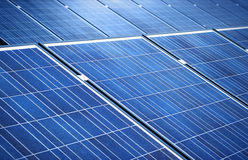 Solar panels background Stock Photography