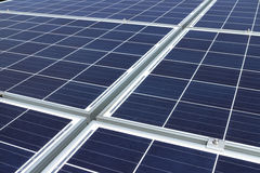 Solar Panels Background Closeup Royalty Free Stock Photos