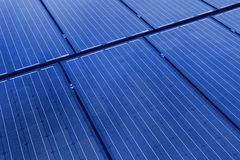Solar panels background Royalty Free Stock Photography