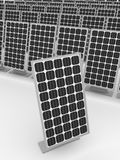 Solar panels background vertical Stock Photo