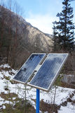 Solar panels cells Royalty Free Stock Photo