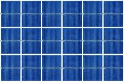 Solar panels cells Stock Photo