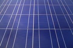 Solar Panels Close Up Royalty Free Stock Photos