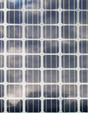 Solar panels. Close-up of a solar panel Stock Images