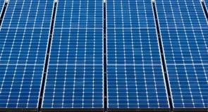 Solar Panels Close Up Stock Photography