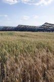 The solar panels Royalty Free Stock Photos