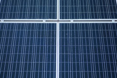 Solar panels detail Stock Photo