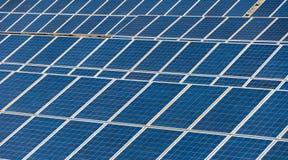 Solar panels - ecology energy Stock Photos